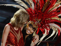 Nicki Minaj and Taylor Swift perform together at the MTV VMAs