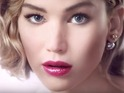 Jennifer Lawrence's Dior Addict lipstick advert
