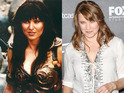 The cast of Xena: The Warrior Princess: Lucy Lawless