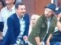 Timberlake and Fallon do Beyoncé at US Open