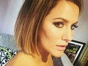 Caroline Flack accidental topless selfie
