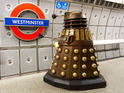 The aliens traveled on the Tube to promote the series 9 of Doctor Who.