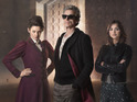 The Doctor is wearing some ridiculously snazzy shades.