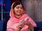 Malala impresses Colbert with card trick