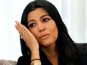 See Kourtney Kardashian cry over Disick