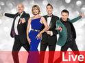 Strictly Come Dancing 2015 live banner