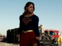 The clip features new footage from the CBS show, and Kara certainly has her hands full.