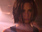 Demi Lovato smoulders in the music video teaser for her upcoming single 'Confident'