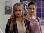 POTD: Coronation Street's Sarah Platt heads to the police station