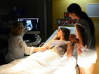 Ash struggles with the reality of the baby after Phoebe's first ultrasound.