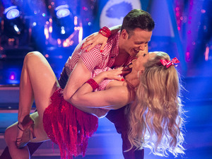 Kellie Bright and Kevin Clifton on Strictly Come Dancing Week 2