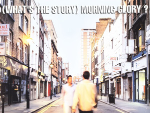 Oasis: (What's The Story) Morning Glory album cover 1995