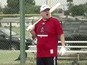 Watch James Corden try out for baseball team