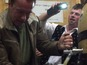 Watch Schwarzenegger attempt to pull a pint
