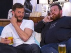 Watch Jamie Dornan and Nick Frost diss Peter Andre's hair in brilliant Gogglebox clip