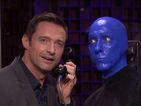 Can Hugh Jackman beat Shaquille O'Neal in a round of Jimmy Fallon's trivia game Phone Booth?