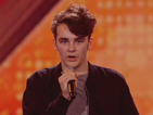X Factor: Nathanael Landskroner tries to conquer his nerves and a Whitney Houston classic