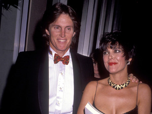 Caption:Bruce Jenner and wife Kris Kardashian attends Pioneer Awards Honoring Terry Semel on December 10, 1990 at the Century Plaza Hotel in Century City, California. (Photo by Ron Galella, Ltd./WireImage)