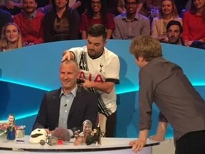 Adam Hills on The Last Leg
