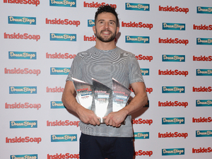 Michael Parr at the Inside Soap Awards