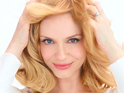Christina Hendricks in a Clairol advert