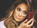 Jennifer Lopez 'Dance Again' concert film still.