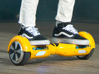 It's illegal to ride hoverboards in public: Police crack down on Segway spin-offs