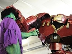 This 9ft Hulkbuster Iron Man costume seen at New York Comic-Con will blow your mind