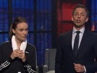 Olivia Wilde is the latest star to accept Seth Meyers's Actathalon challenge