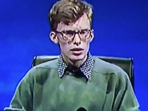 University Challenge contestant jumps as buzzer