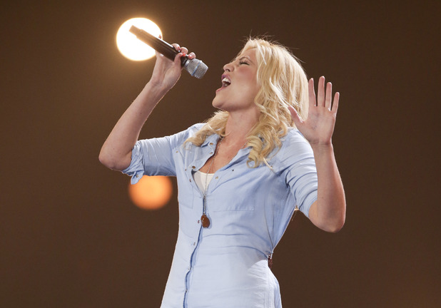 Hannah Marie Kilminster at the X Factor Six Chair Challenge