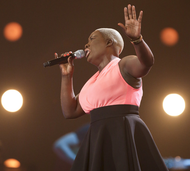 Jennifer Phillips at the X Factor Six Chair Challenge