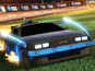 Back to the Future DeLorean for Rocket League